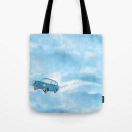Literary Car Tote Bag