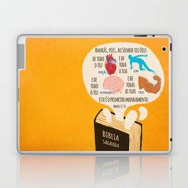 Marcos 12:30 Laptop & iPad Skin