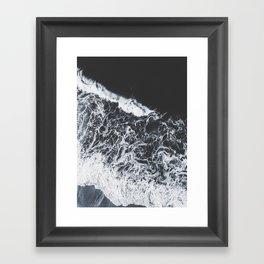 sea lace Framed Art Print