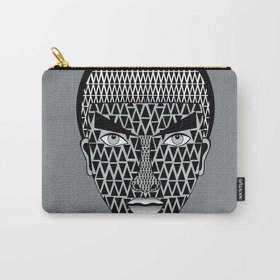 geometric geisha Carry-All Pouch