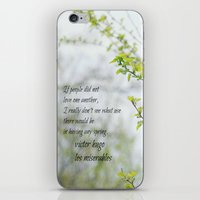 les miserables iPhone & iPod Skins featuring Les Miserables Love by KimberosePhotography