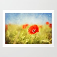 pure summer feelings Art Print