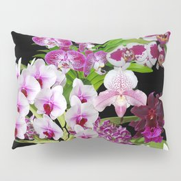 Orchids - Cool colors! Pillow Sham