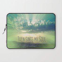 Then Sings My Song Sunbeams Laptop Sleeve