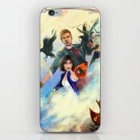 bioshock iPhone & iPod Skins featuring Bioshock Infinite by Alba Palacio