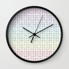 QUEER (all genders) Wall Clock