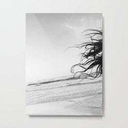 Tulum Hair Metal Print