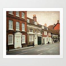 Salisbury Fantasy Art Print