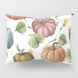 PUMPKINS WATERCOLOR Pillow Sham