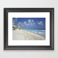 Carribean sea 7 Framed Art Print