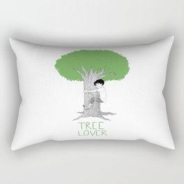 TREE LOVER - spring version Rectangular Pillow