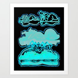 out of body experience Art Print
