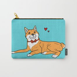 Shiba Inu Love Carry-All Pouch