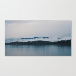 Cloudy Whiteface Mountain Canvas Print