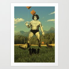 André Waz 'ere Art Print