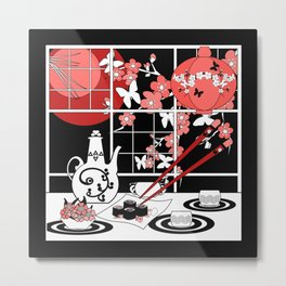 Picture of Oriental cuisine. Metal Print