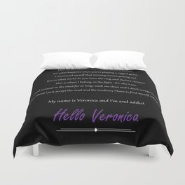 Veronica Mars Duvet Cover