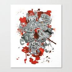 The seven deadly sins Canvas Print