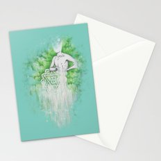 Love as Pain - Anahata in the heart Stationery Cards