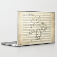 beethoven Laptop & iPad Skins featuring Beethoven by bananabread