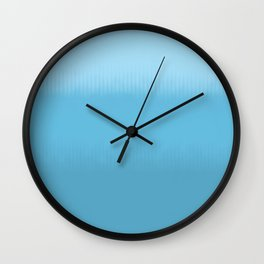 Deep in the Heart of Blue Wall Clock