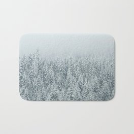 White Forest Bath Mat