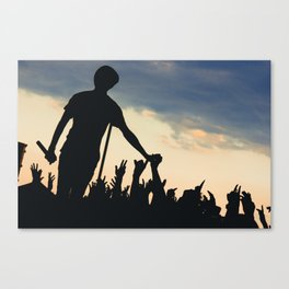 Watsky - Warped Tour Canvas Print
