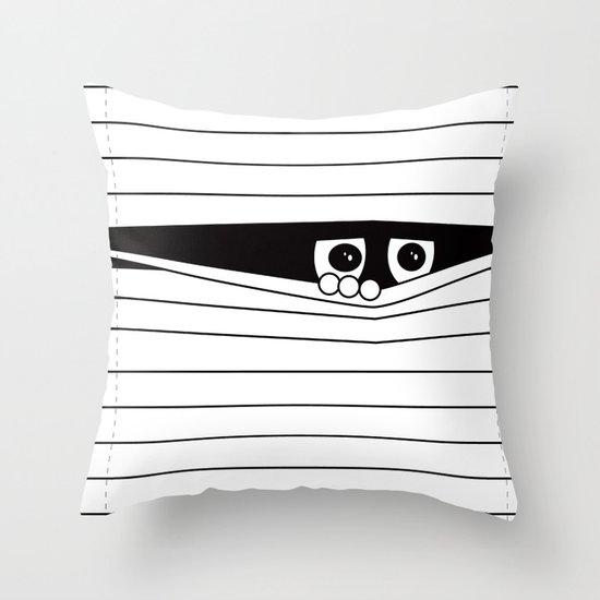 Watching. Throw Pillow
