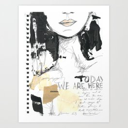 2014 Sketch Book Series #001 Art Print