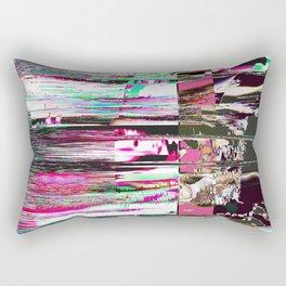 GLITCH 1 - TumblingStumblingPop Rectangular Pillow