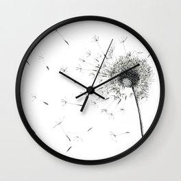 Pissenlit Wall Clock