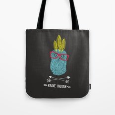 Brave Indian. Tote Bag