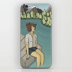 Lake Time iPhone & iPod Skin