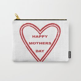 Mothers Day Heart Carry-All Pouch