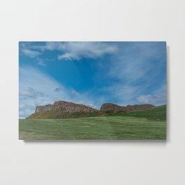 Salisbury Crags Metal Print