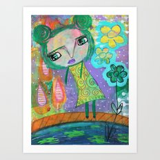 Dreaming of Giverney Art Print