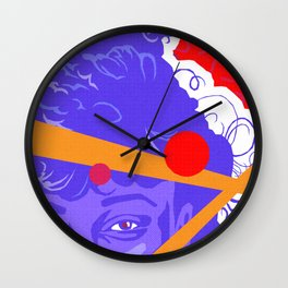 LISA :: Memphis Design :: Saved By The Bell Series Wall Clock