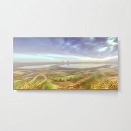 Early morning mist. (Digital Art) Metal Print