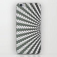 Low Peaks - Black & White iPhone & iPod Skin