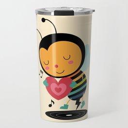 Bee Yourself Travel Mug