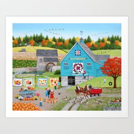 Bountiful Harvest Art Print