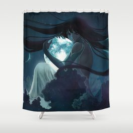 The Enemy of The Sun Shower Curtain