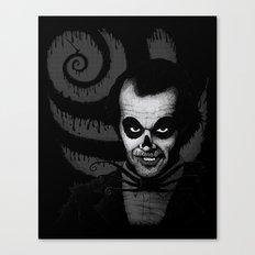 Jack T. Skeleton Canvas Print