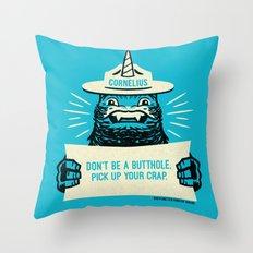Ranger Cornelius Says... Throw Pillow