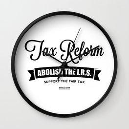 Abolish The I.R.S. Wall Clock