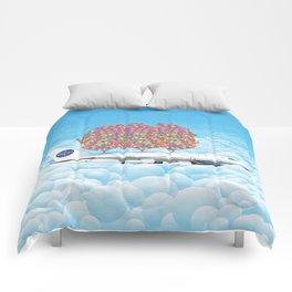 Happy Plane Comforters
