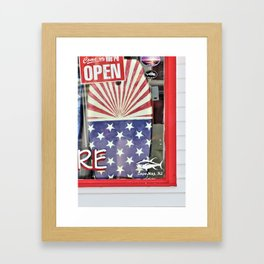 Summer's Calling Framed Art Print