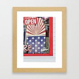 Summer's Calling Framed Art Print