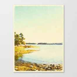 Wolfe's Neck State Park, ME Canvas Print