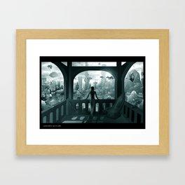 Future London Framed Art Print